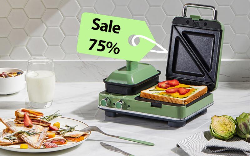 """5 sản phẩm đa năng lại còn đang có giá """"sale"""" siêu đẹp cho phòng bếp: Có thể nấu ăn, làm lẩu hoặc đồ nướng, nhà nào cũng nên sở hữu 1 chiếc"""