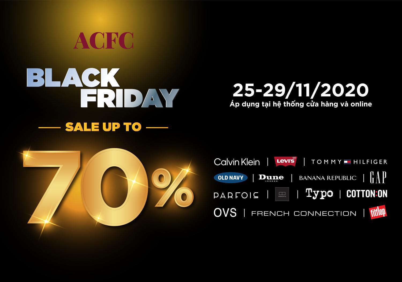 ACFC Black Friday - Bùng nổ siêu ưu đãi giảm đến 70% từ các thương hiệu đình đám - Ảnh 1.
