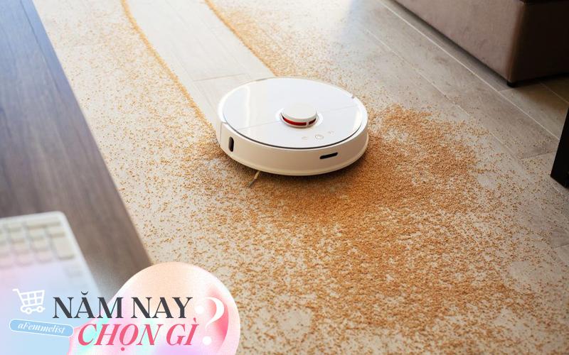 """5 robot hút bụi lau nhà thông minh được đánh giá cao năm 2020: Chị em nhàn tênh vì sàn nhà sạch - bóng - mịn """"như gương"""""""