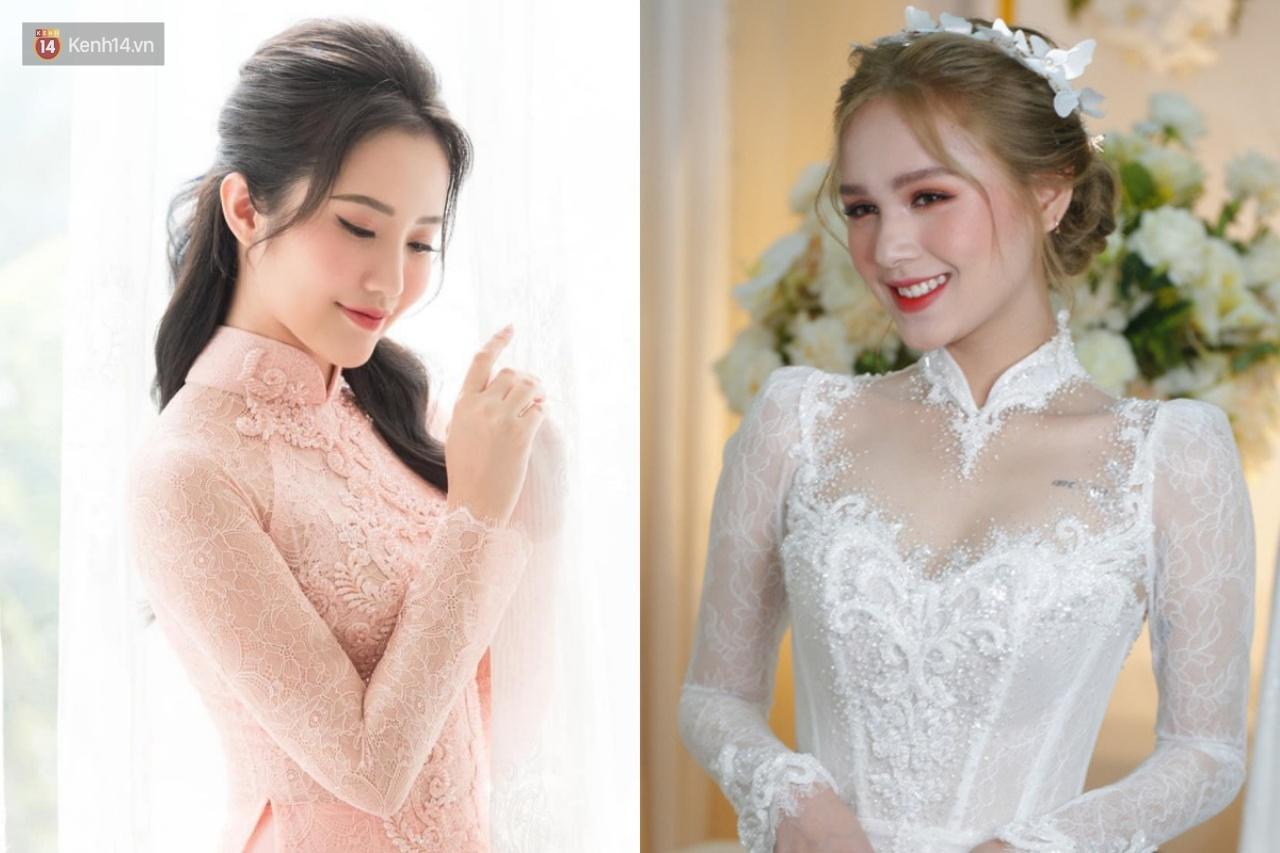 Primmy Trương - Xoài Non cùng diện áo dài ren nhưng lại so kè cực gắt vè makeup, tóc tai: Người sang như gái Pháp, người nền nã yêu kiều - Ảnh 5.