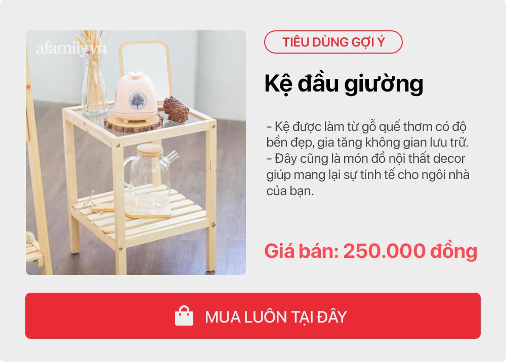 Tư vấn những sản phẩm đơn giản giúp gái độc thân tự trang trí phòng ngủ tone cam hoa nhí xinh như Hàn xẻng lại cho chi phí cực tiết kiệm  - Ảnh 7.
