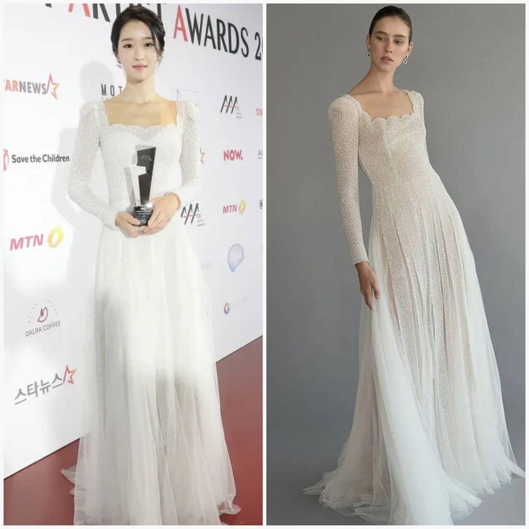 Sau màn hở bạo suýt tụt cả váy, Seo Ye Ji bất ngờ đổi style thanh lịch nhẹ nhàng như cô dâu vậy - Ảnh 5.