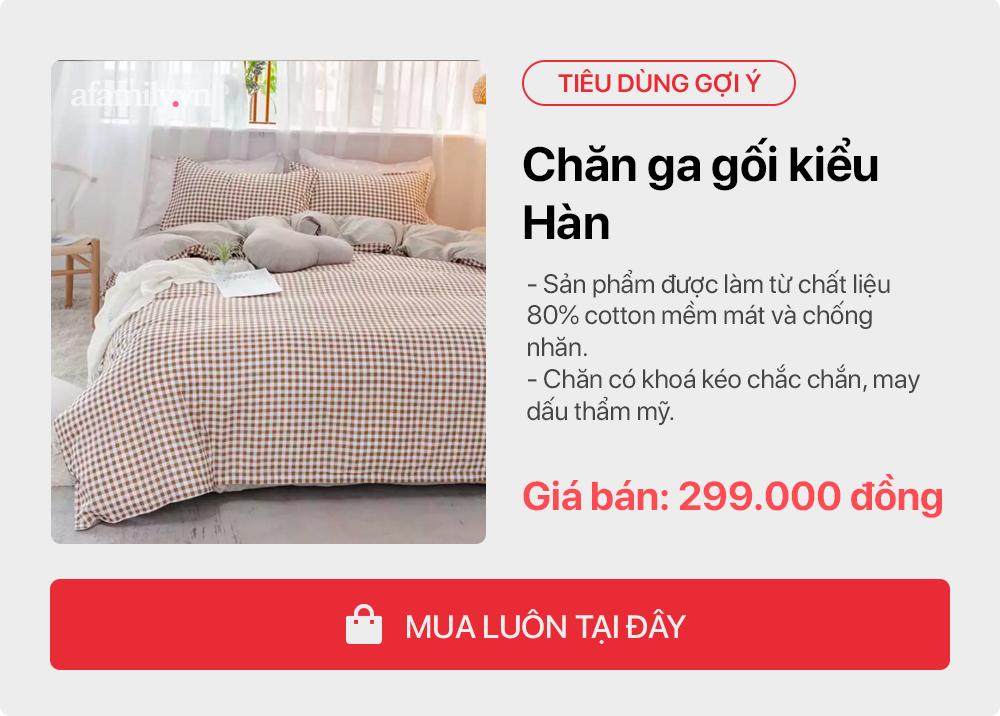 Tư vấn những sản phẩm đơn giản giúp gái độc thân tự trang trí phòng ngủ tone cam hoa nhí xinh như Hàn xẻng lại cho chi phí cực tiết kiệm  - Ảnh 5.