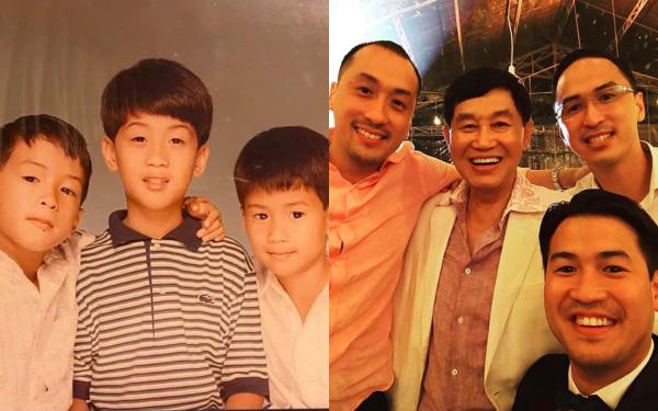Phillip Nguyễn đăng hình chúc mừng sinh nhật người anh cả kín tiếng, vô tình tiết lộ ảnh hồi bé khiến fan bối rối không nhận ra anh chàng - Ảnh 1.