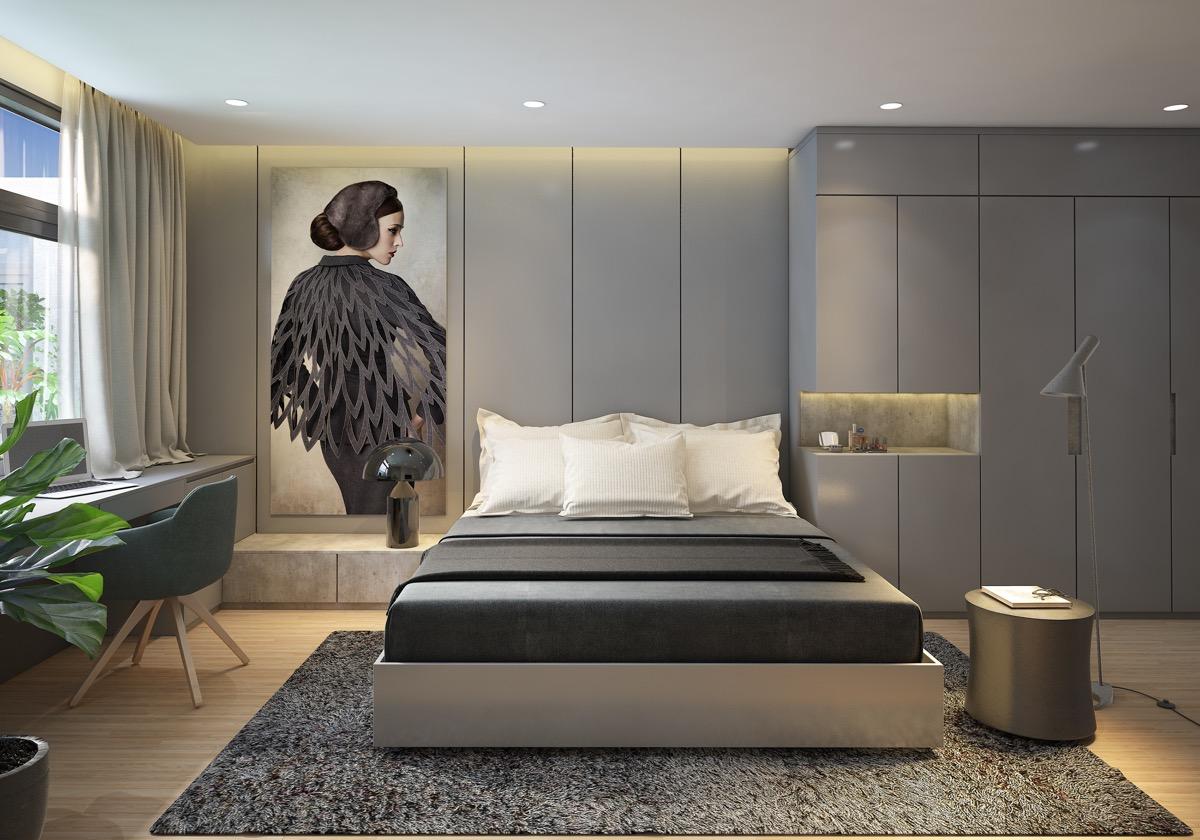 18 gợi ý cho thiết kế phòng ngủ sang trọng và phong cách - Ảnh 11.