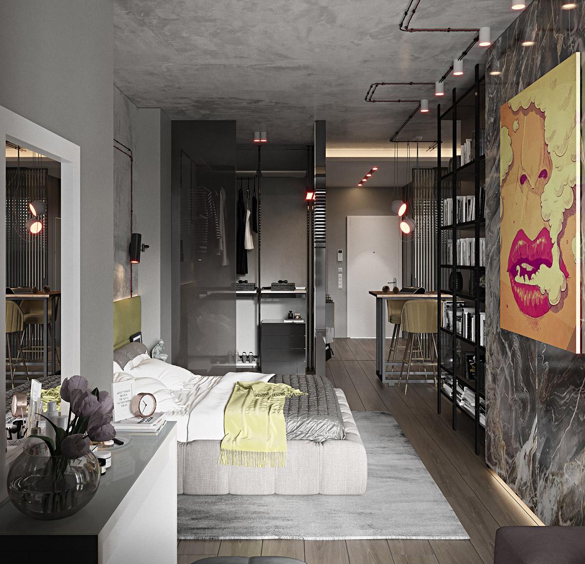 18 gợi ý cho thiết kế phòng ngủ sang trọng và phong cách - Ảnh 17.