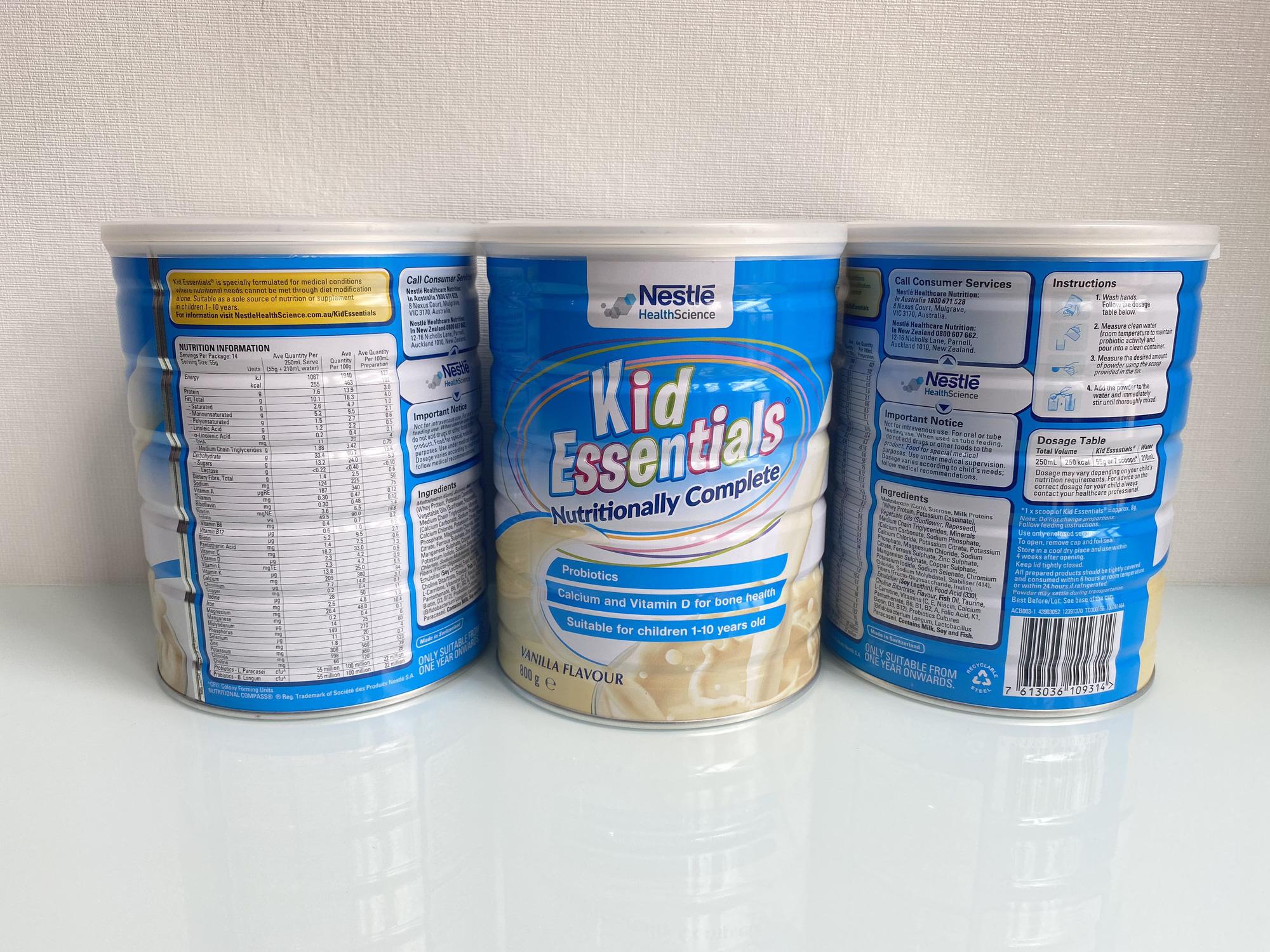 Thực phẩm bổ sung Kid Essential – Sữa bột vượt trội với công thức chứa 50% Whey protein - Ảnh 2.