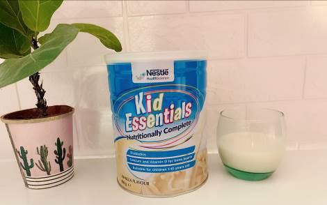Thực phẩm bổ sung Kid Essential – Sữa bột vượt trội với công thức chứa 50% whey protein