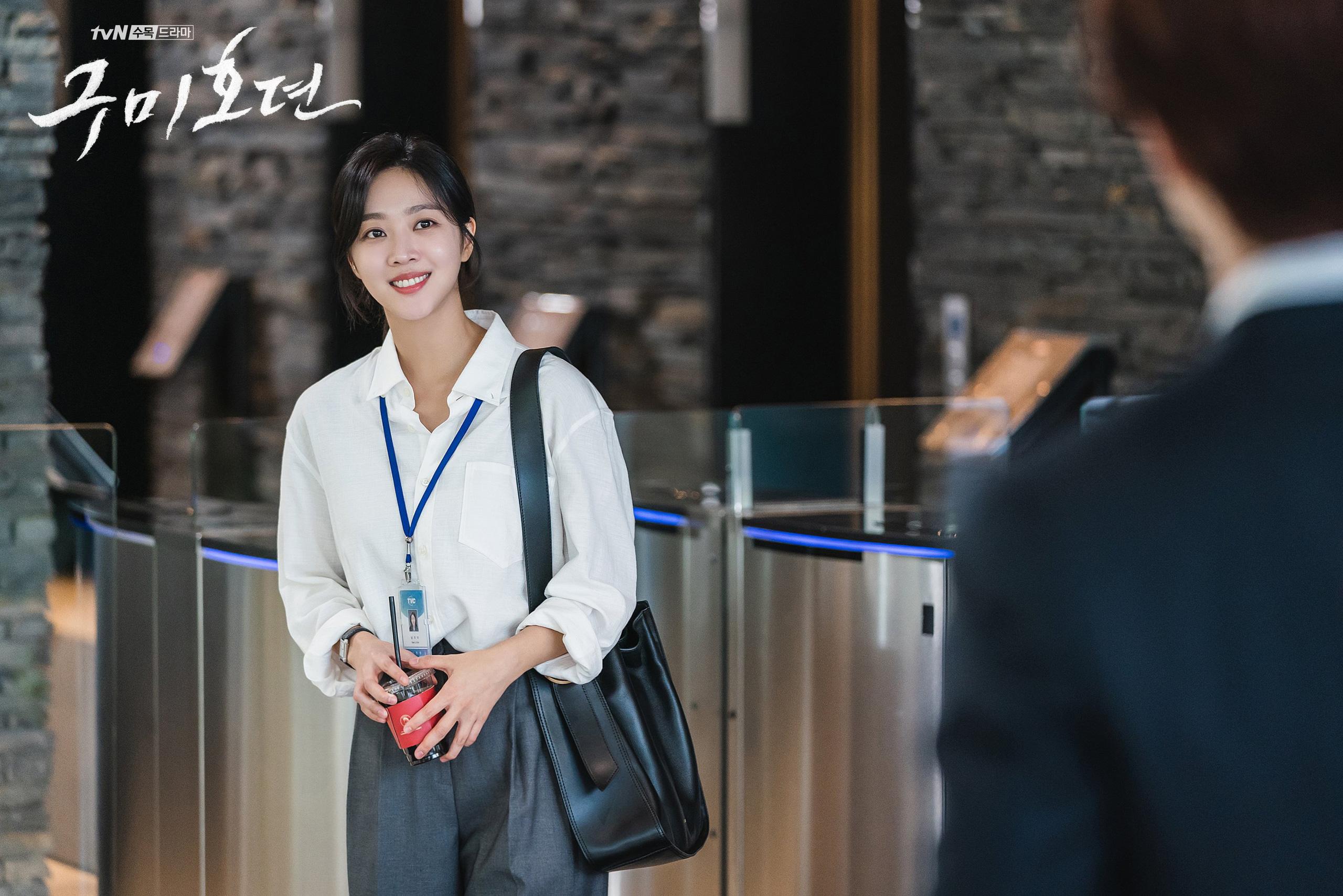 11 outfit công sở hot nhất trong các drama Hàn: Đơn giản và chuẩn thanh lịch, xua tan nỗi lo mặc xấu khi đi làm - Ảnh 3.