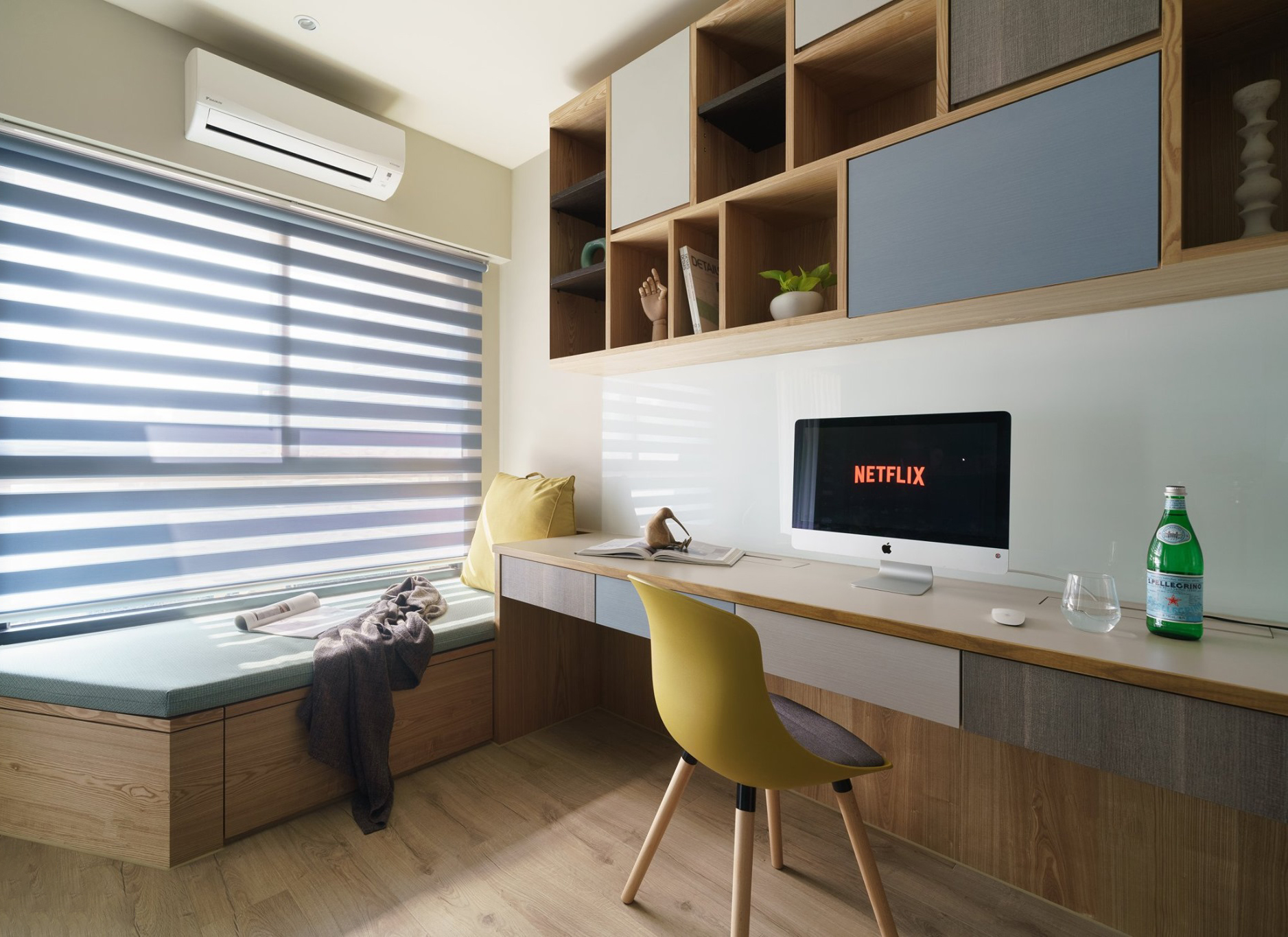 Kiến trúc sư tư vấn thiết kế căn hộ 50m² cho người trẻ độc thân với chi phí 134 triệu đồng - Ảnh 10.