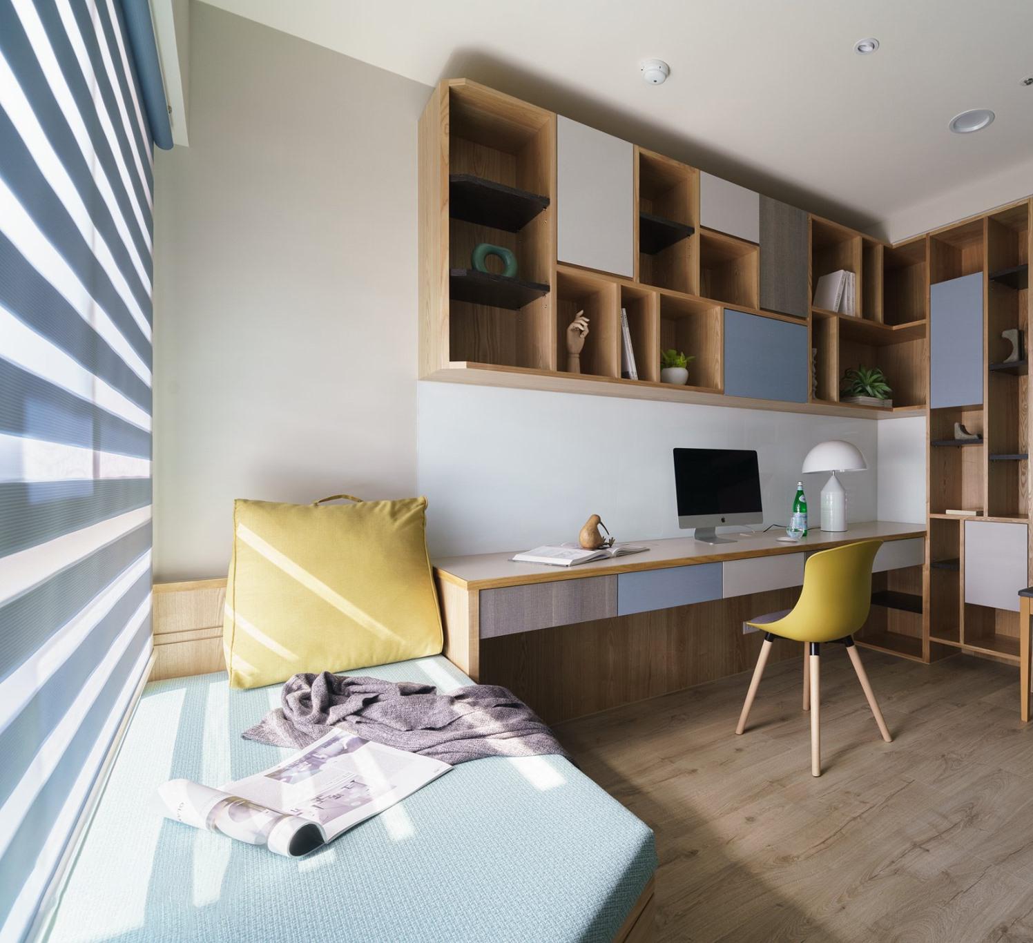 Kiến trúc sư tư vấn thiết kế căn hộ 50m² cho người trẻ độc thân với chi phí 134 triệu đồng - Ảnh 11.