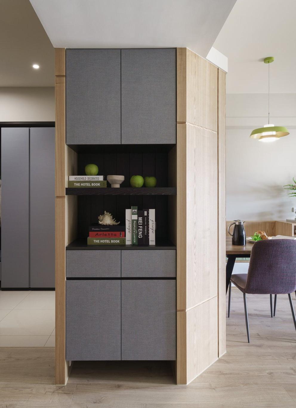 Kiến trúc sư tư vấn thiết kế căn hộ 50m² cho người trẻ độc thân với chi phí 134 triệu đồng - Ảnh 3.