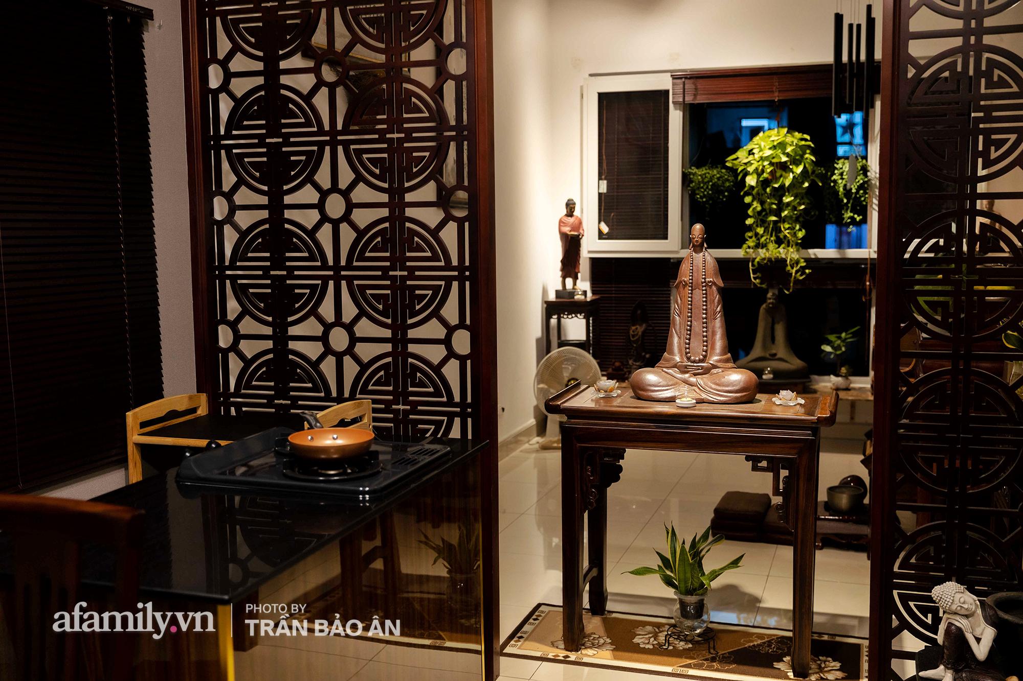 Những hình ảnh hiếm hoi tại nhà của Nghệ nhân ẩm thực Nguyễn Dzoãn Cẩm Vân kể từ khi xuất gia và bữa cơm chay do đích thân cô xuống bếp thiết đãi - Ảnh 5.
