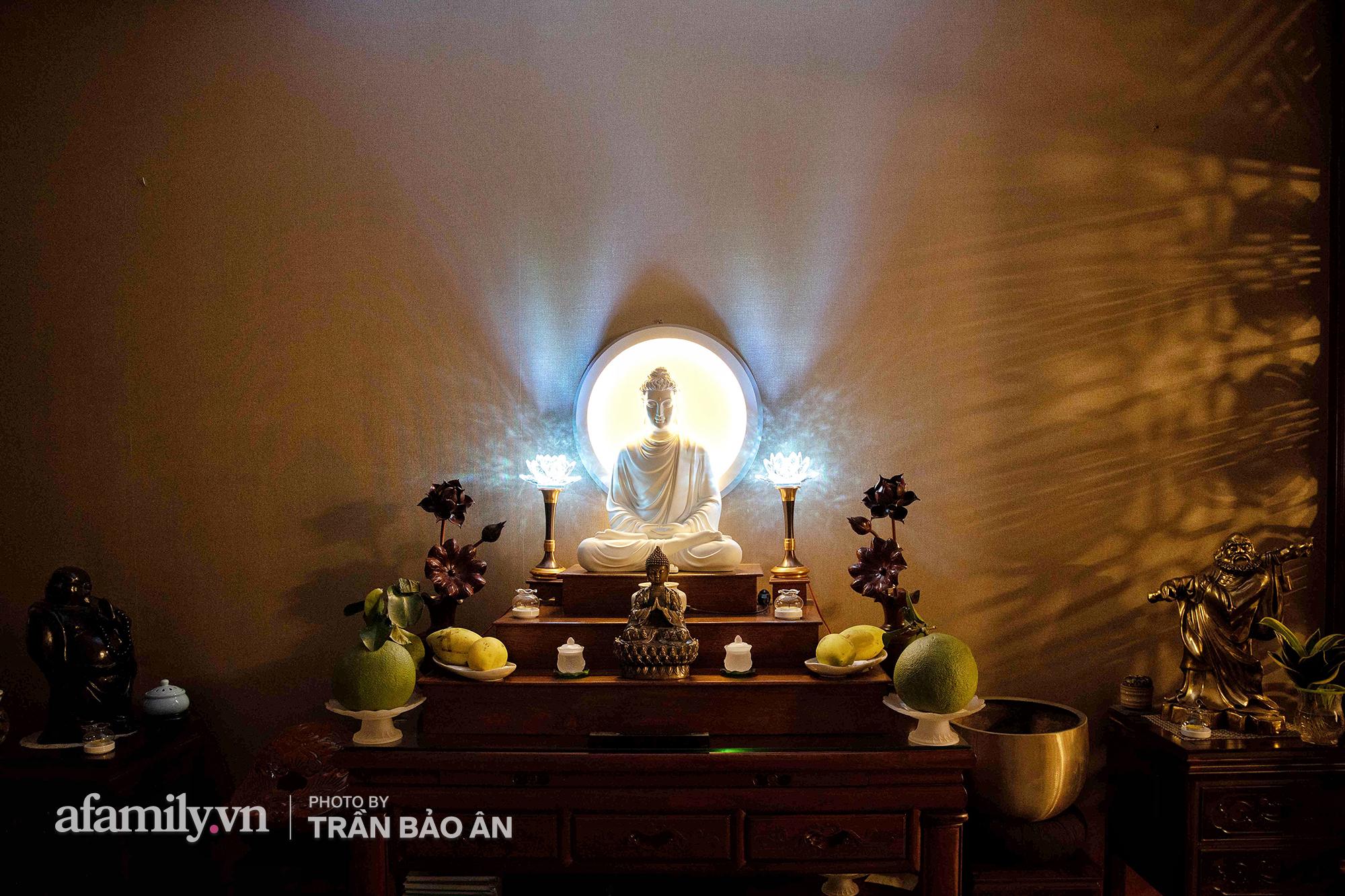 Những hình ảnh hiếm hoi tại nhà của Nghệ nhân ẩm thực Nguyễn Dzoãn Cẩm Vân kể từ khi xuất gia và bữa cơm chay do đích thân cô xuống bếp thiết đãi - Ảnh 13.