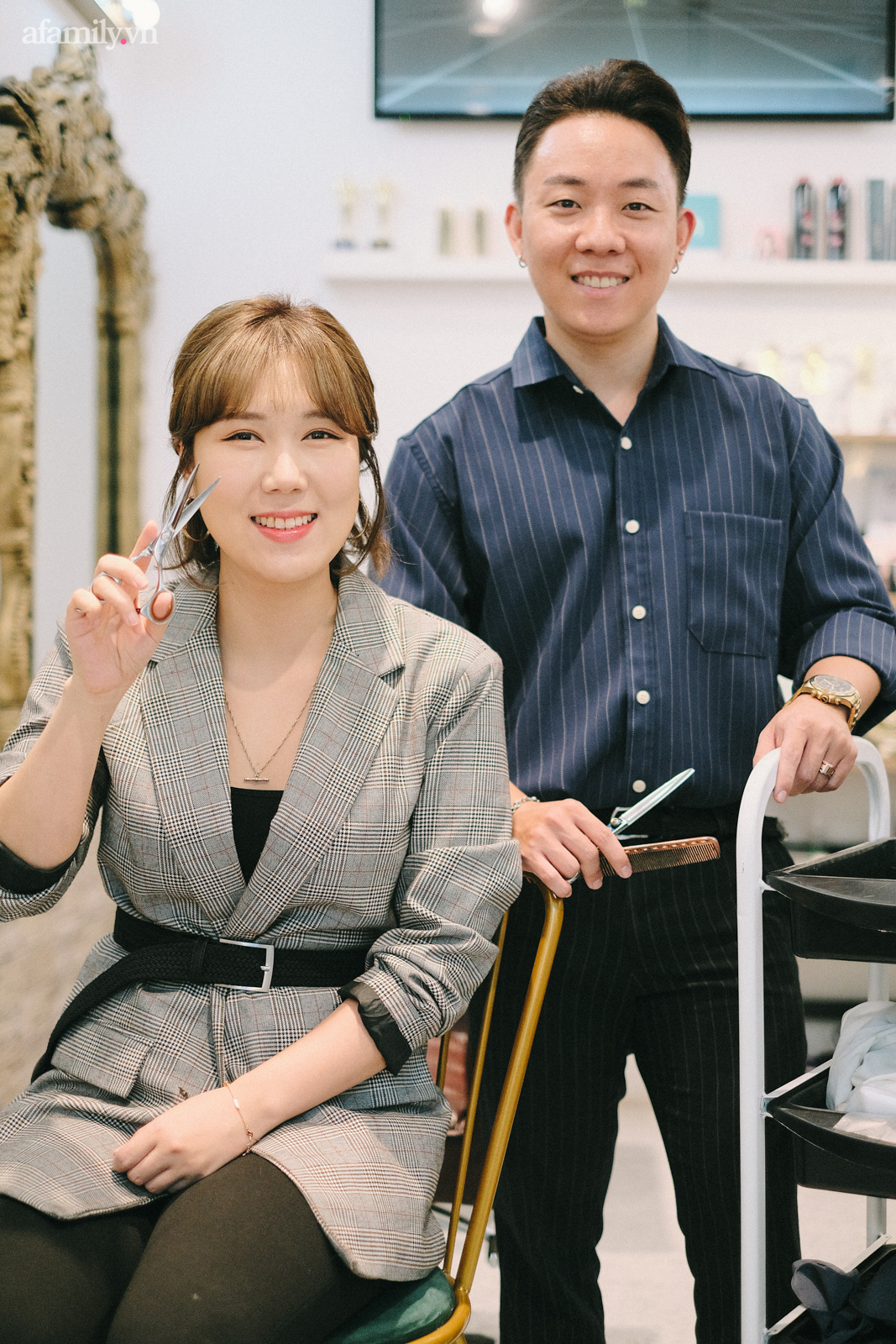 Tiệm làm tóc chuẩn Hàn giữa lòng Hà Nội: Tiết lộ luật bất thành văn khi làm tóc ở Hàn, chỉ ra sai lầm mà 90% khách Việt đều mắc phải - Ảnh 9.