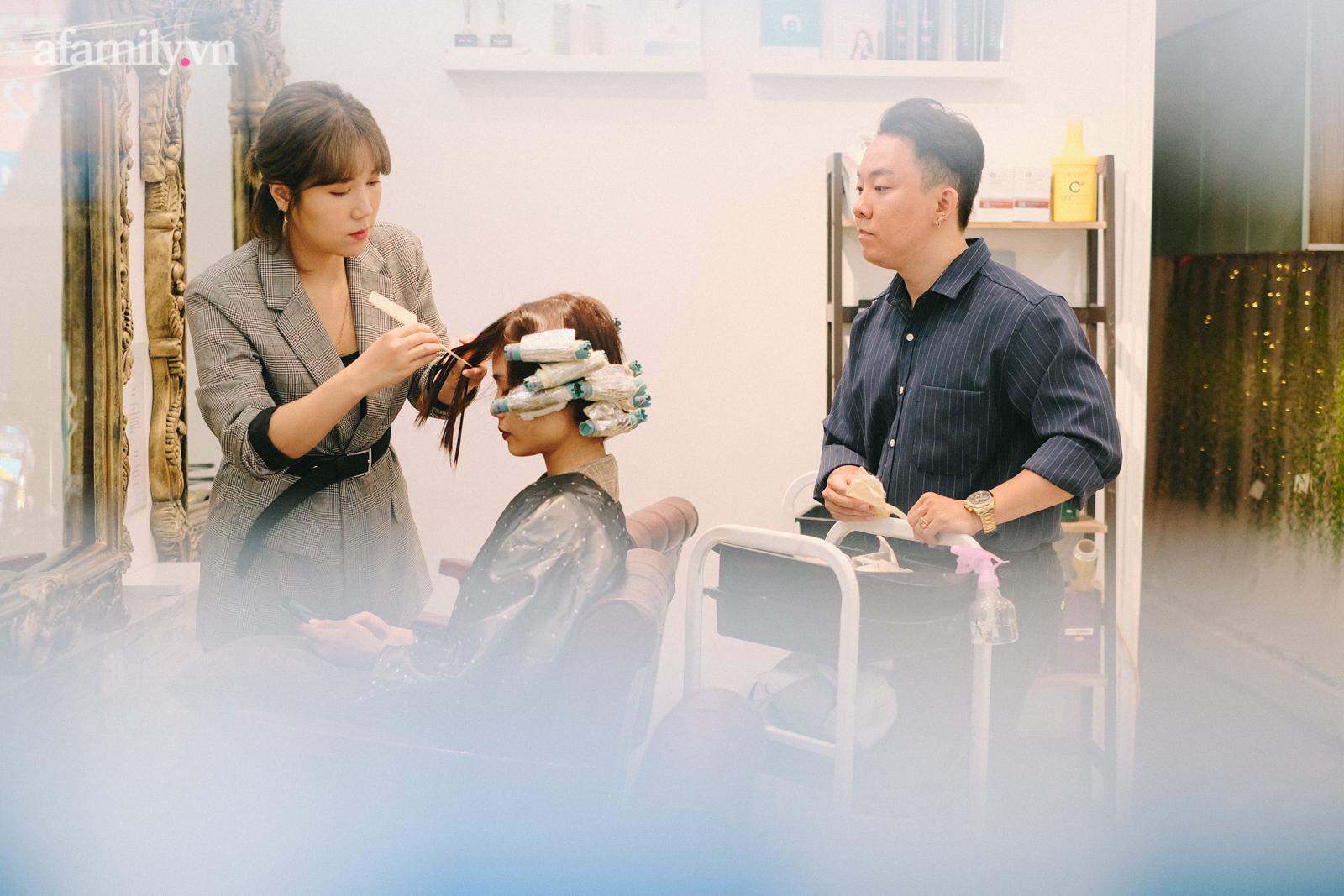 Tiệm làm tóc chuẩn Hàn giữa lòng Hà Nội: Tiết lộ luật bất thành văn khi làm tóc ở Hàn, chỉ ra sai lầm mà 90% khách Việt đều mắc phải - Ảnh 7.