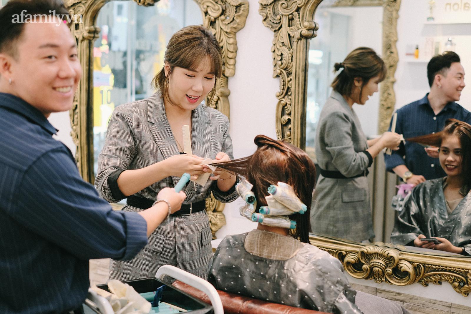 Tiệm làm tóc chuẩn Hàn giữa lòng Hà Nội: Tiết lộ luật bất thành văn khi làm tóc ở Hàn, chỉ ra sai lầm mà 90% khách Việt đều mắc phải - Ảnh 4.