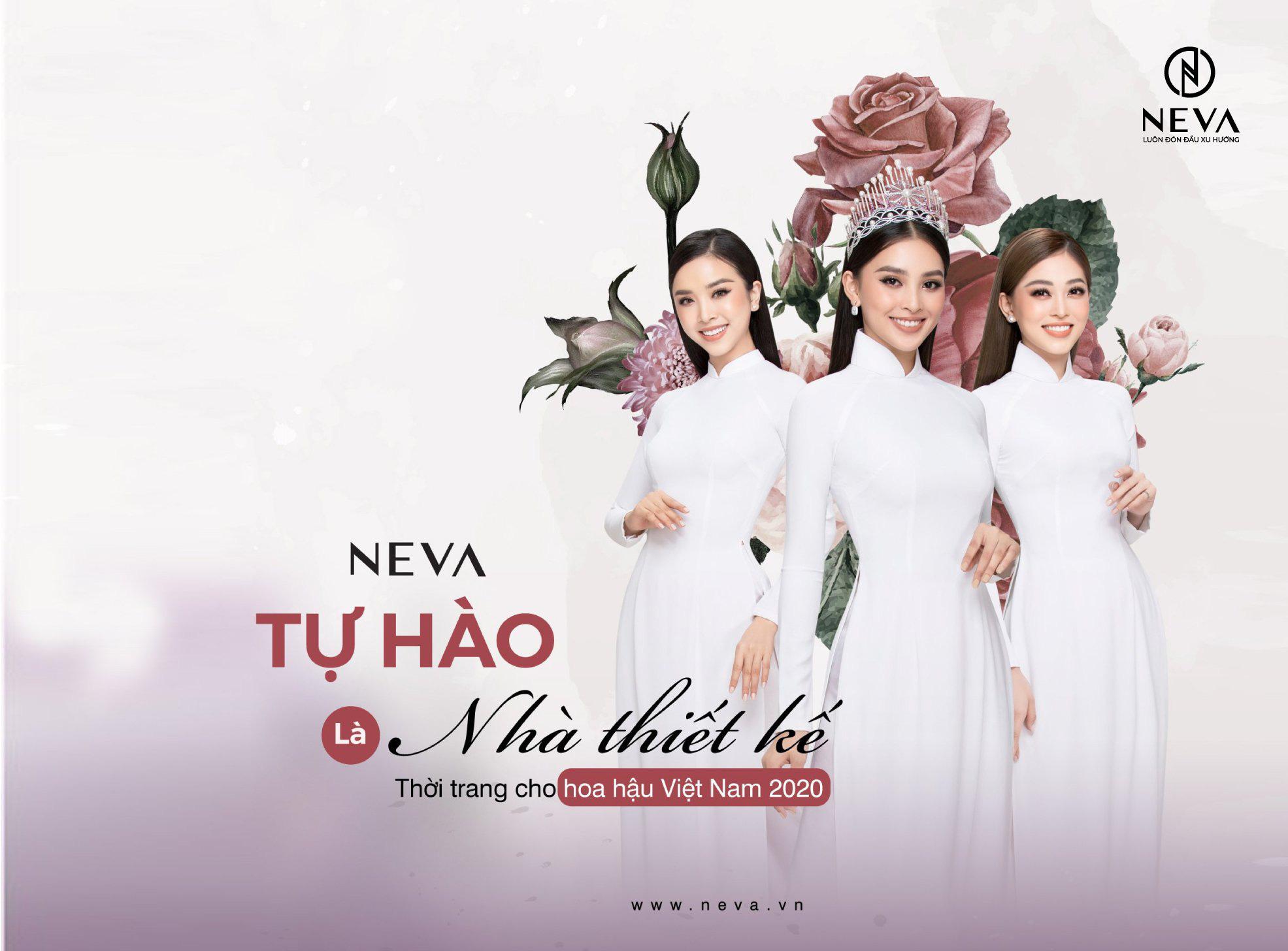 NEVA tự hào là nhà thiết kế thời trang hoa hậu việt nam 2020 - Ảnh 4.