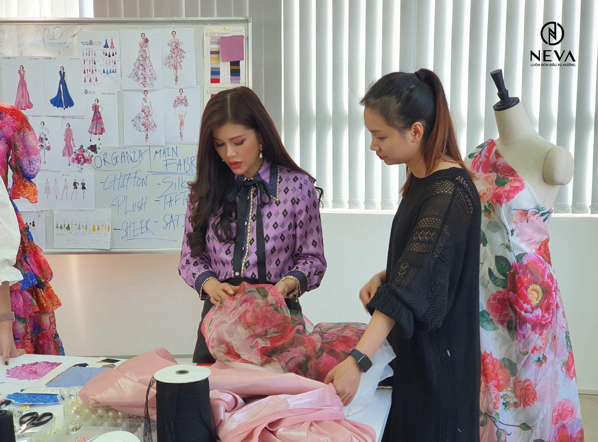 NEVA tự hào là nhà thiết kế thời trang hoa hậu việt nam 2020 - Ảnh 5.