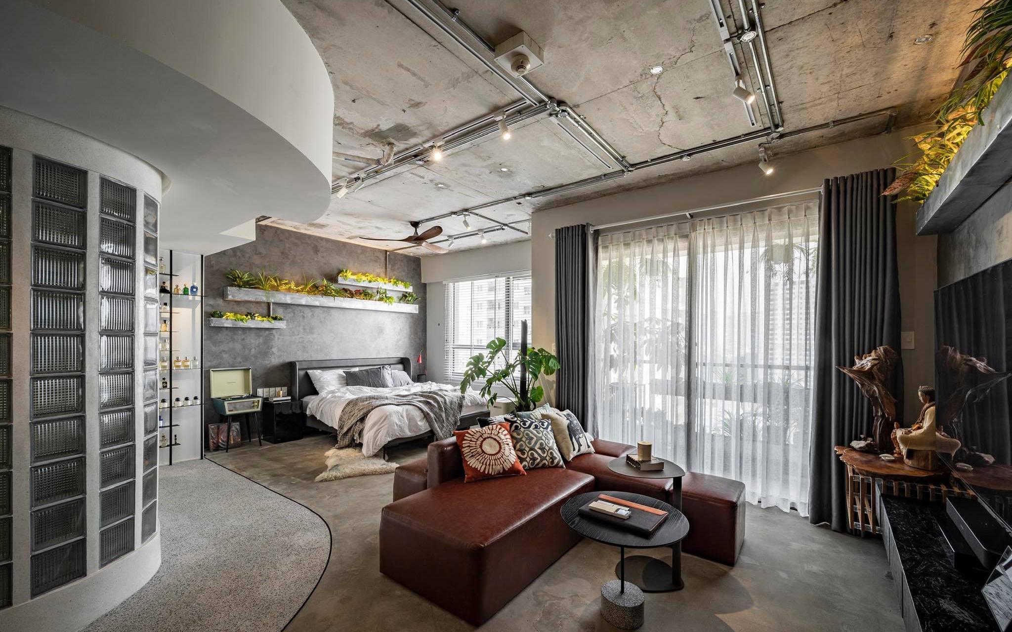 Chàng trai độc thân Sài Gòn quyết đập phá hiện trạng cũ của căn hộ 82m², biến thành không gian mở đẹp hiện đại, cá tính