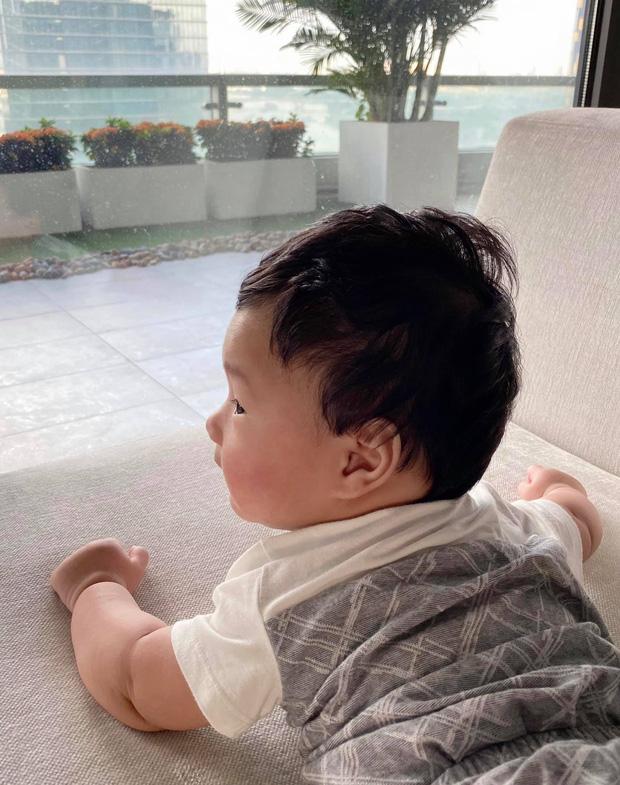 Đặng Thu Thảo chính thức công khai gương mặt con trai thứ 2 bằng khoảnh khắc cực đáng yêu - Ảnh 3.