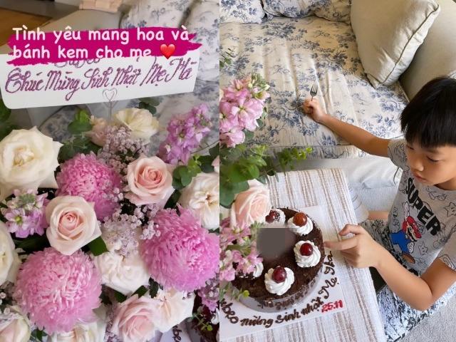 Nhìn quà sinh nhật Subeo tặng Hồ Ngọc Hà và Đàm Thu Trang là biết ngay tình cảm cậu bé dành cho hai người mẹ như thế nào - Ảnh 3.