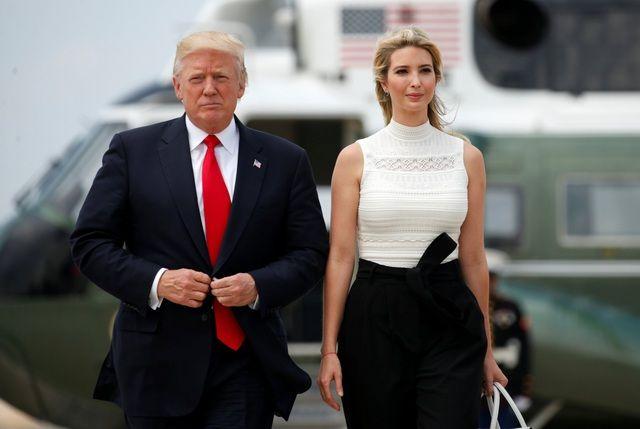 """Con gái của Donald Trump: Từ nhỏ đã được dạy dỗ nghiêm ngặt, lớn lên thành """"con át chiến lược"""" trong chiến dịch tranh cử của bố - Ảnh 1."""