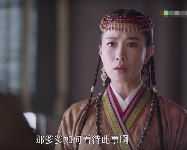 """""""Yến Vân Đài"""": Xa Thi Mạn đẹp rụng rời khi làm Vương Phi nhưng ảnh chưa qua photoshop lại đầy vết nhăn - Ảnh 8."""