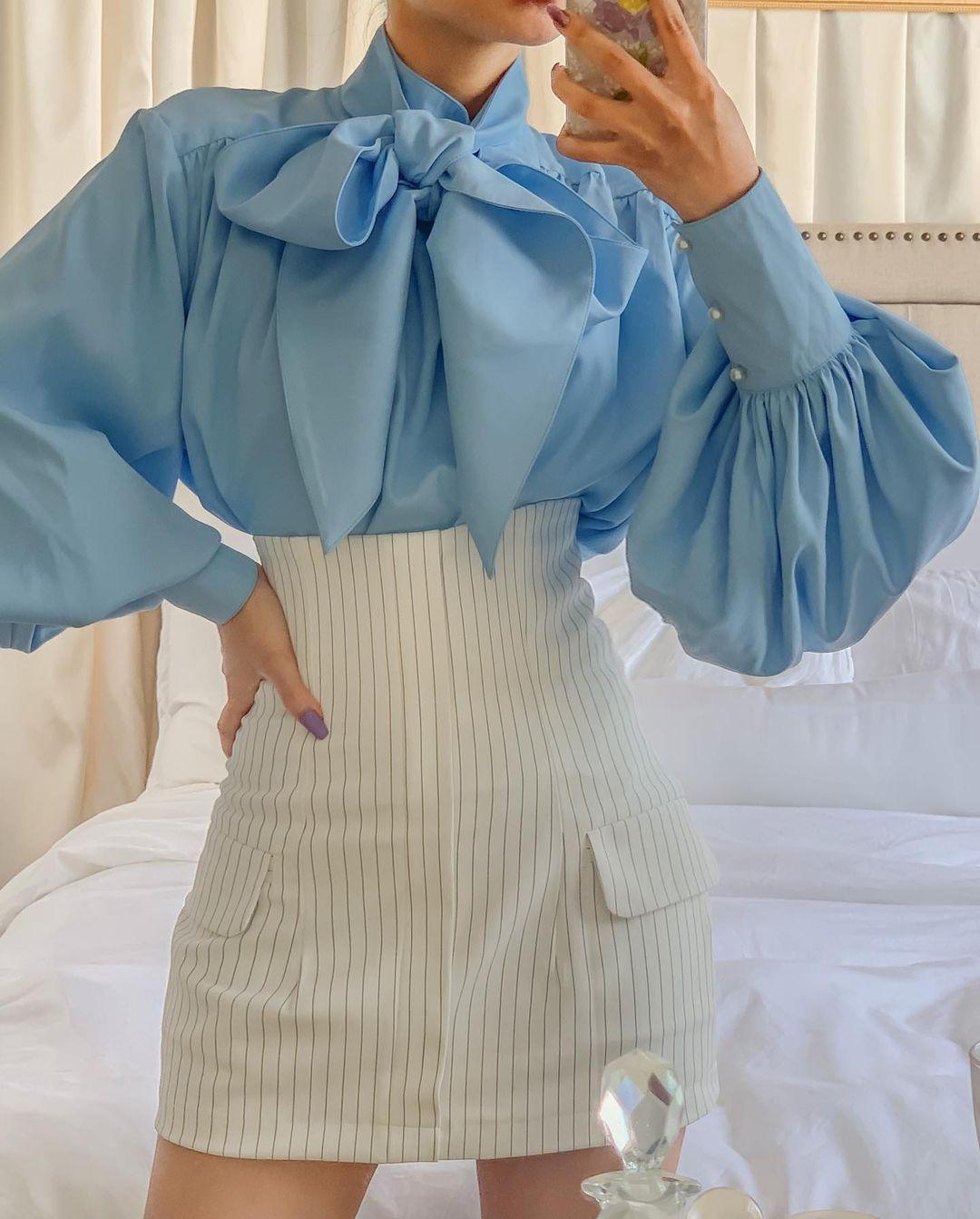 3 kiểu áo sơ mi cách điệu biến style của nàng công sở thành trendy hết sức - Ảnh 3.