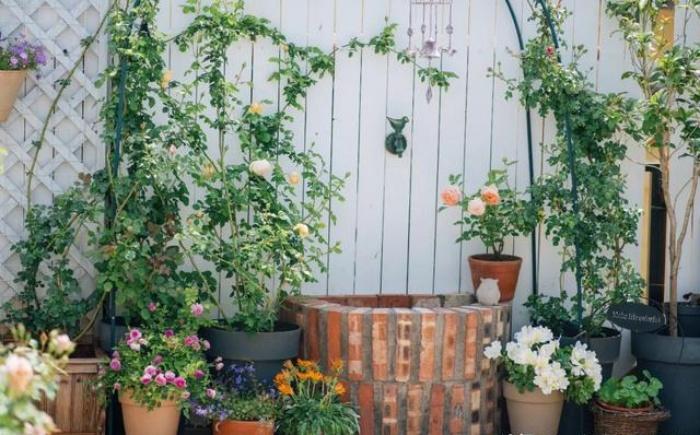 Vì yêu hoa, cô gái xinh như mộng mua ngay căn hộ áp mái để trồng cả vườn hồng trên sân thượng rộng 33m² - Ảnh 3.