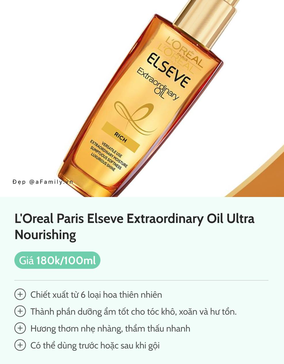 6 loại dầu dưỡng tóc từ 150k giúp tóc mềm mướt bồng bềnh như mây - Ảnh 9.