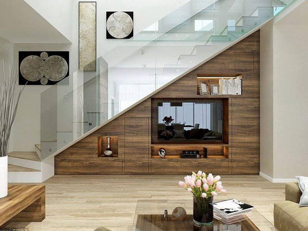 5 cách tận dụng gầm cầu thang giúp bạn tiết kiệm không gian sống một cách triệt để - Ảnh 3.