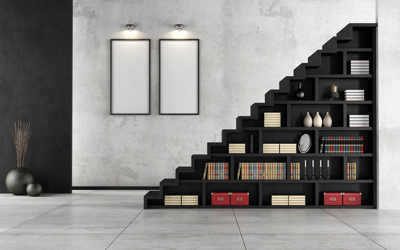 5 cách tận dụng gầm cầu thang giúp bạn tiết kiệm không gian sống một cách triệt để - Ảnh 8.