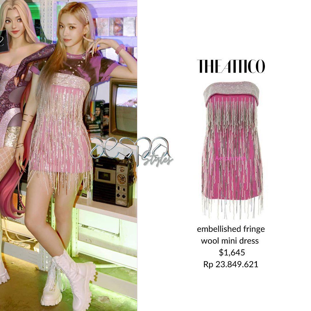 Winter (aespa) vừa debut đã đụng váy Nayeon mặc từ 2 năm trước: Gà mới nhà SM có qua mặt mỹ nhân Twice? - Ảnh 5.