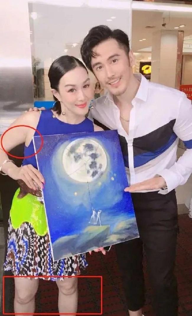"""Tuy nhiên nhiều netizen đã """"soi"""" ra được dấu hiệu lão hóa của Chung Lệ Đề."""