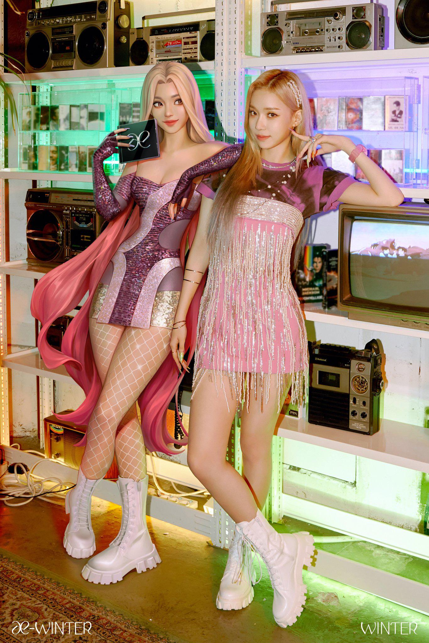 Winter (aespa) vừa debut đã đụng váy Nayeon mặc từ 2 năm trước: Gà mới nhà SM có qua mặt mỹ nhân Twice? - Ảnh 1.