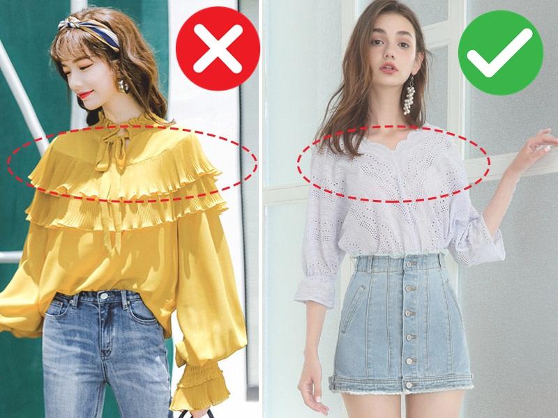 5 kiểu áo không dành cho những cô nàng vai ngang, diện lên sẽ khiến vóc dáng thô kệch đi mấy phần - Ảnh 1.