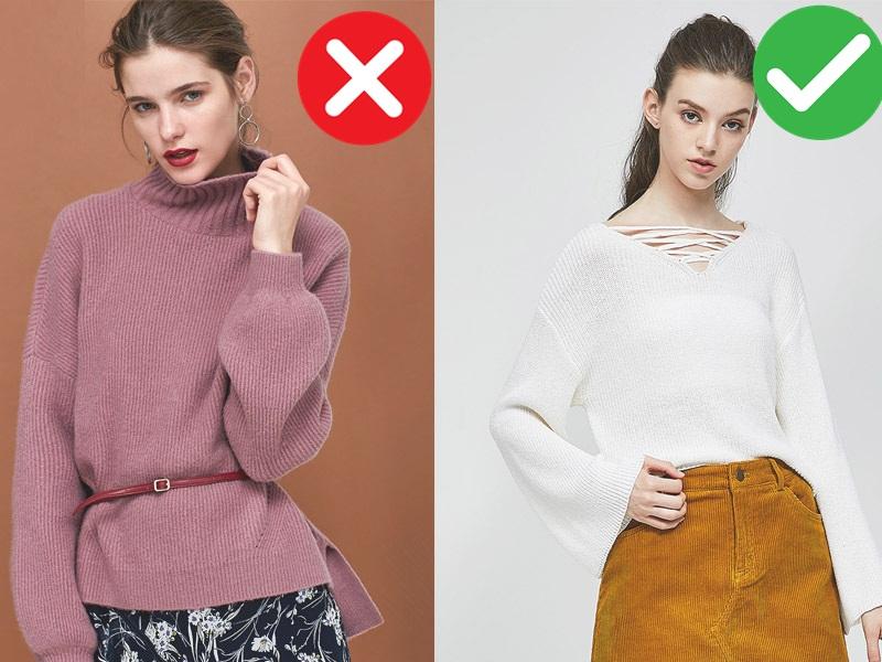 5 kiểu áo không dành cho những cô nàng vai ngang, diện lên sẽ khiến vóc dáng thô kệch đi mấy phần - Ảnh 5.