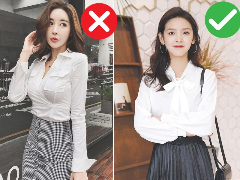 5 kiểu áo không dành cho những cô nàng vai ngang, diện lên sẽ khiến vóc dáng thô kệch đi mấy phần - Ảnh 2.