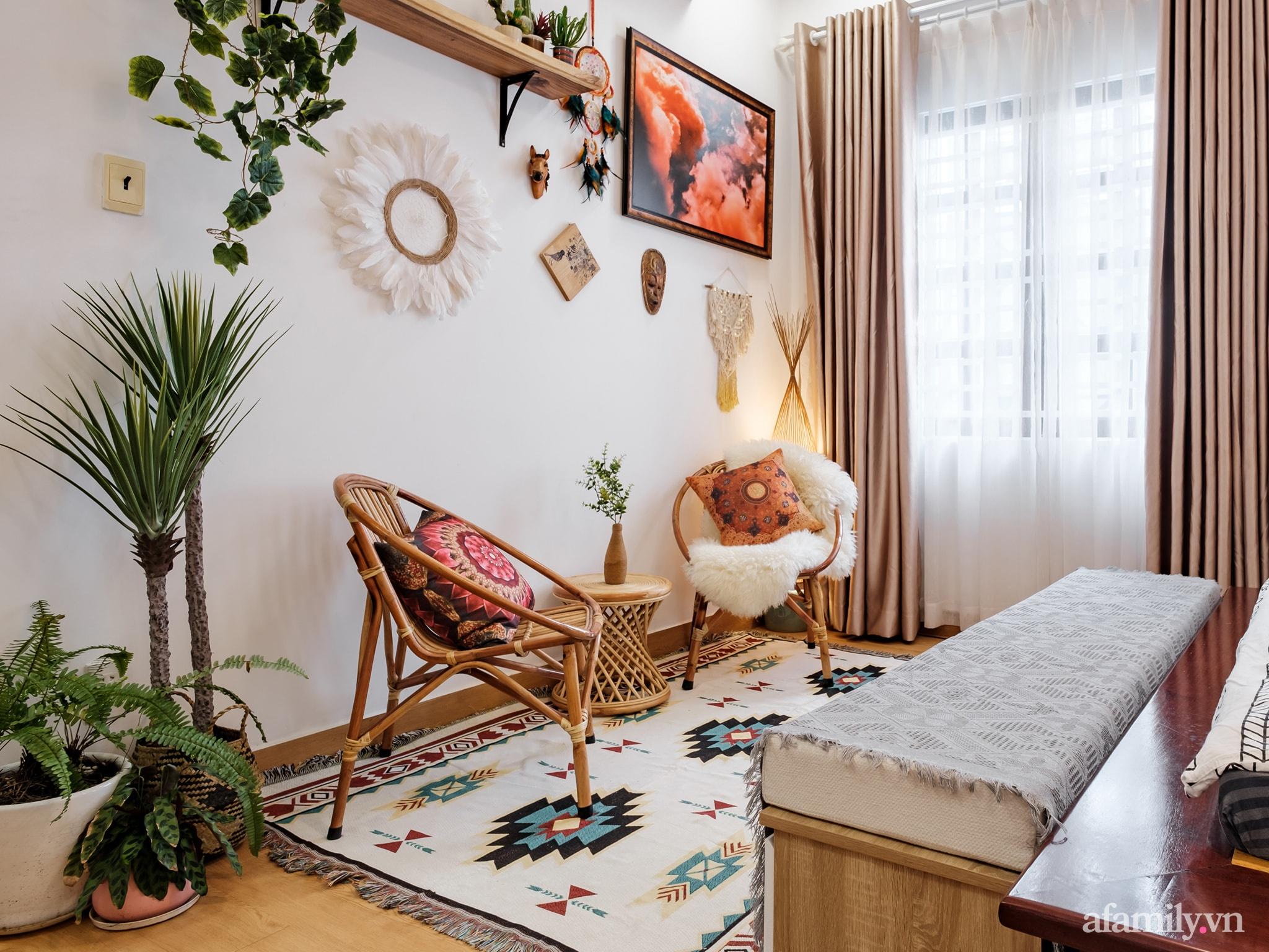 Cải tạo phòng ngủ cũ thành phòng tân hôn đẹp lãng mạn theo phong cách Boho với chi phí décor 50 triệu đồng ở Sài Gòn - Ảnh 11.