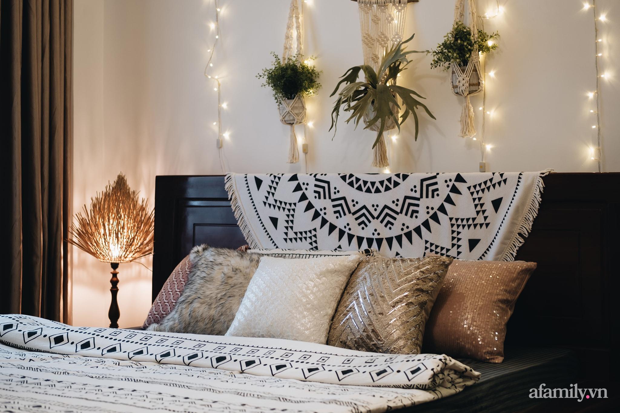 Cải tạo phòng ngủ cũ thành phòng tân hôn đẹp lãng mạn theo phong cách Boho với chi phí décor 50 triệu đồng ở Sài Gòn - Ảnh 4.
