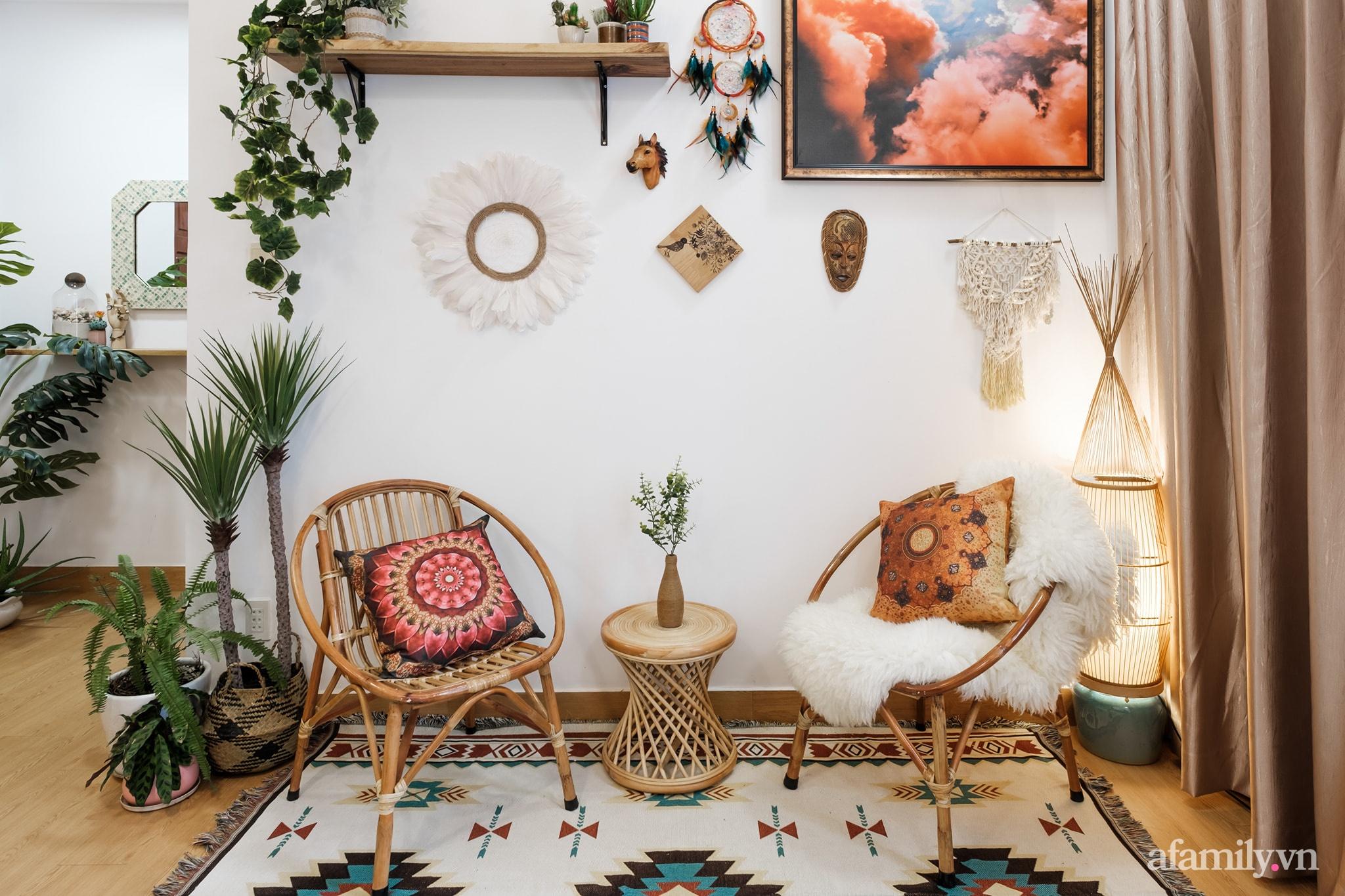 Cải tạo phòng ngủ cũ thành phòng tân hôn đẹp lãng mạn theo phong cách Boho với chi phí décor 50 triệu đồng ở Sài Gòn - Ảnh 12.