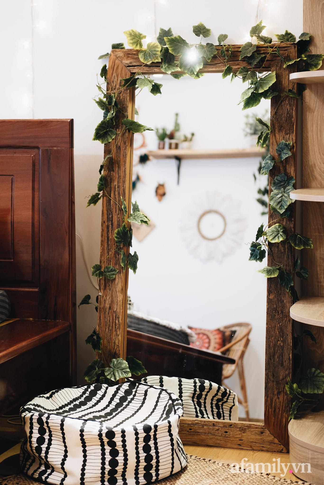 Cải tạo phòng ngủ cũ thành phòng tân hôn đẹp lãng mạn theo phong cách Boho với chi phí décor 50 triệu đồng ở Sài Gòn - Ảnh 9.