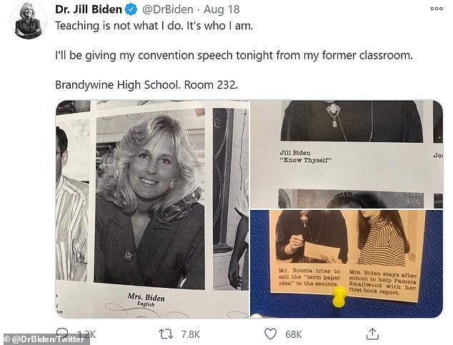 Vợ ông Joe Biden làm nên điều chưa từng có trong lịch sử khi trở thành Đệ nhất phu nhân Mỹ - Ảnh 2.