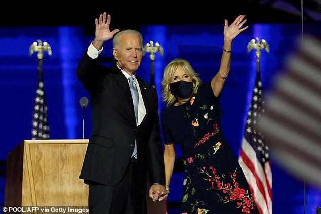 Vợ ông Joe Biden làm nên điều chưa từng có trong lịch sử khi trở thành Đệ nhất phu nhân Mỹ - Ảnh 1.