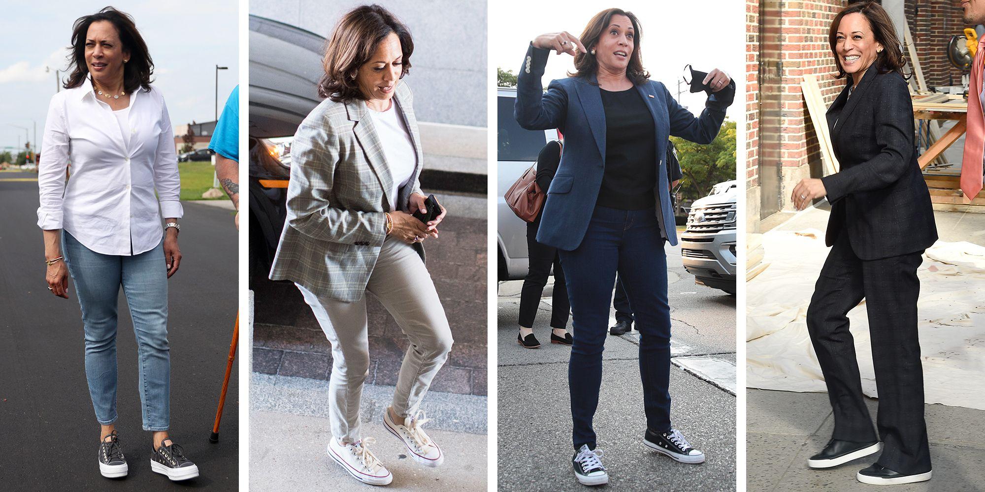 """Nữ phó Tổng thống Mỹ đầu tiên trong lịch sử: Từng bộ suit đều có """"ý nghĩa"""" riêng, U60 vẫn đi sneakers nhưng sâu xa  - Ảnh 6."""