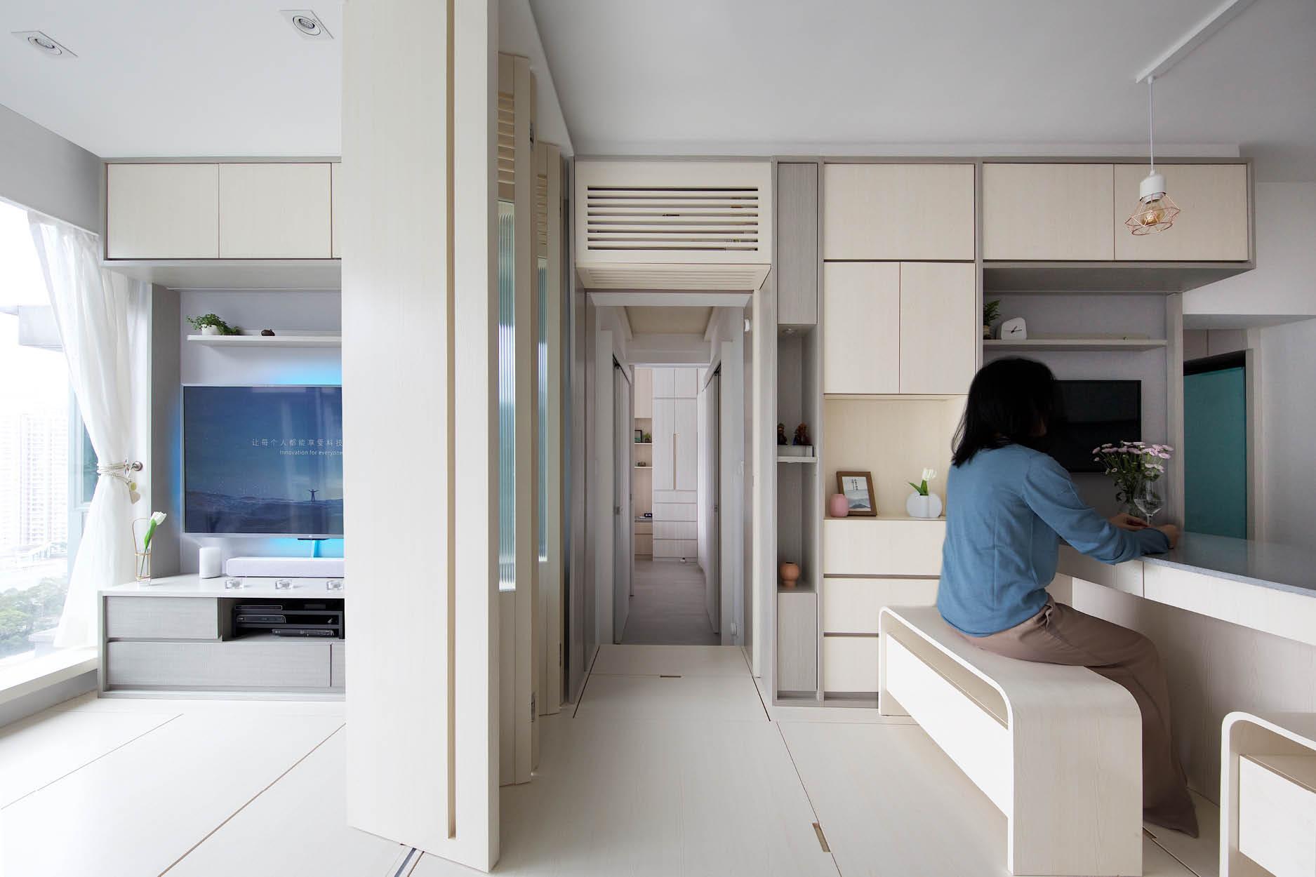 Căn hộ 45m² với mẹo bố trí hợp phong thủy giúp không gian thêm vượng khí, vợ chồng thêm thuận hòa  - Ảnh 6.