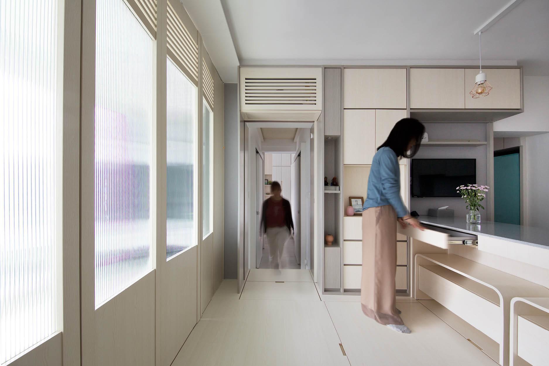 Căn hộ 45m² với mẹo bố trí hợp phong thủy giúp không gian thêm vượng khí, vợ chồng thêm thuận hòa  - Ảnh 13.