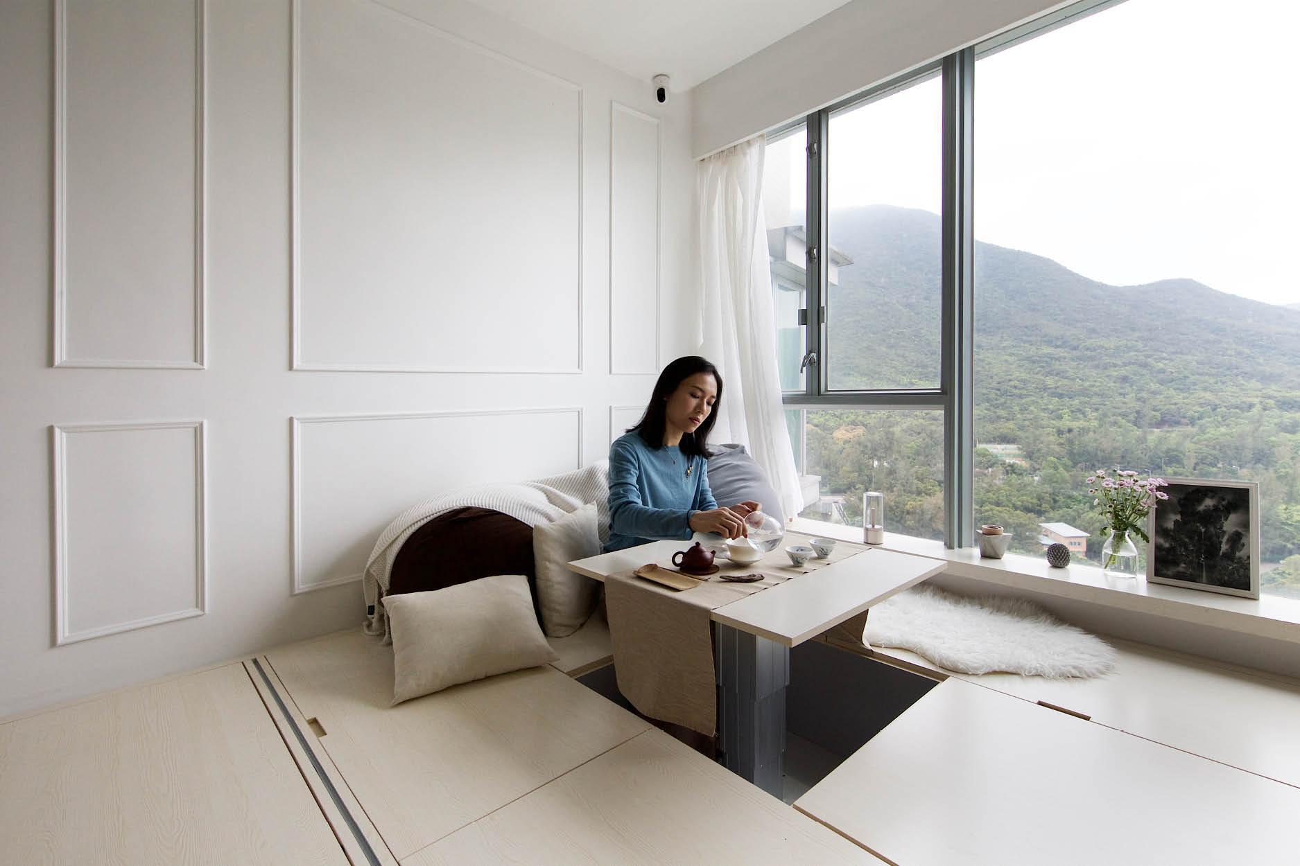 Căn hộ 45m² với mẹo bố trí hợp phong thủy giúp không gian thêm vượng khí, vợ chồng thêm thuận hòa  - Ảnh 5.