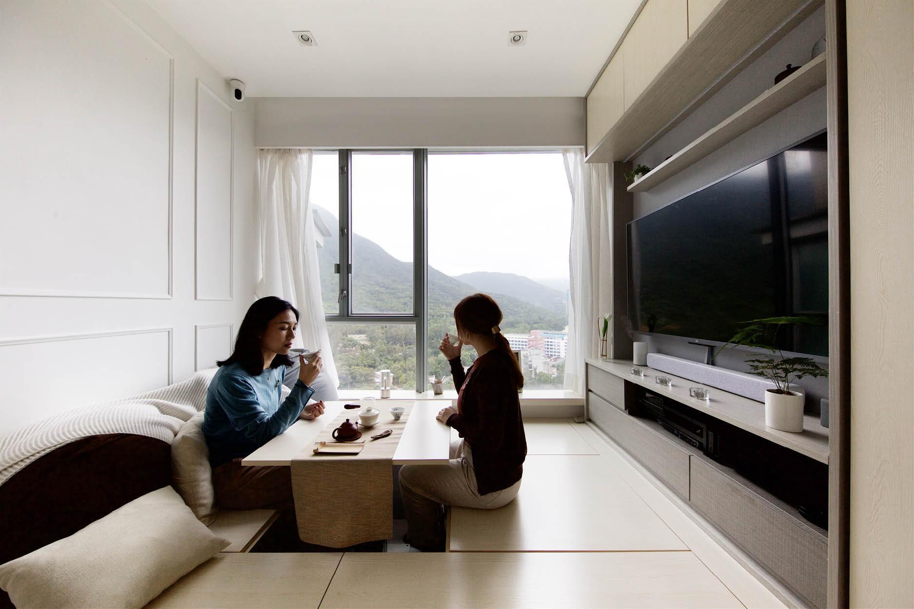 Căn hộ 45m² với mẹo bố trí hợp phong thủy giúp không gian thêm vượng khí, vợ chồng thêm thuận hòa  - Ảnh 3.